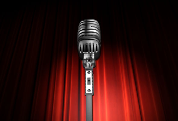 Public Speaking Microphone Image