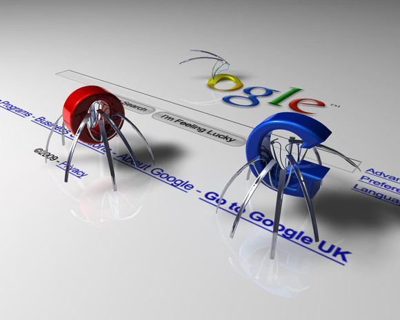 Search Engine Spiders Image