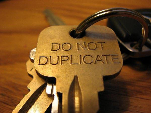 Do Not Duplicate Success Keys