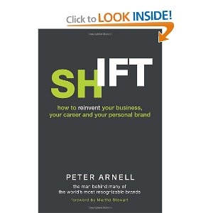 Peter Arnell Shift Book Cover