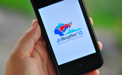 Come talk to me at BlogHer '12