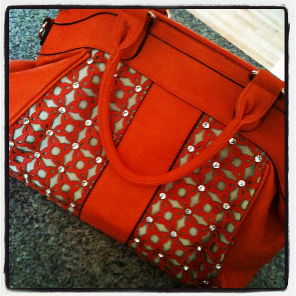 Excira Orange Purse