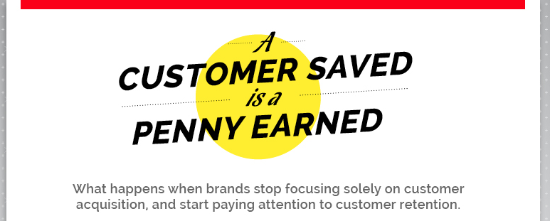 A Customer Saved Infographic Feature Image