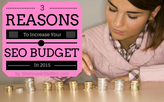 SEO Budget for 2015