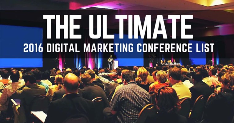2016 Ultimate Digital Marketing Conferences