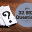 32 SEO Questions and Answers